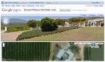 Южноафриканские винные поместья на Google map street view